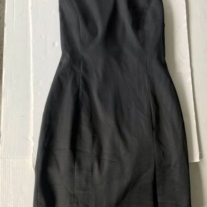 Cache Black Halter Mini Cocktail Dress Size 6